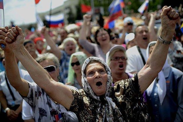 Как ДНР заставляет стариков страдать ради картинки в СМИ - Цензор.НЕТ 3655