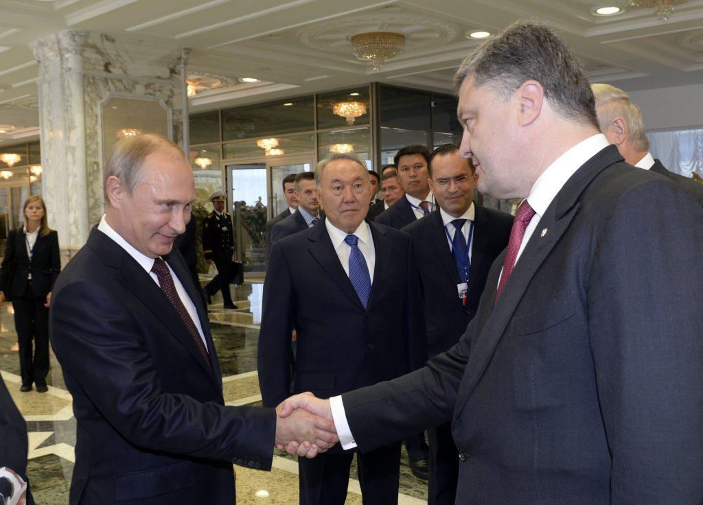 """Результат пошуку зображень за запитом """"Порошенко и Путин"""""""