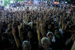 Бангкок, Таиланд, протесты